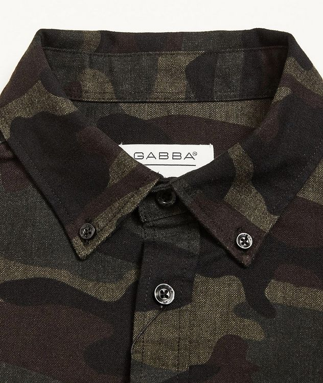 Camouflage Print Shirt picture 2