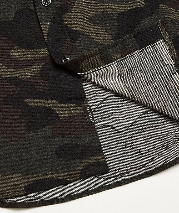 Camouflage Print Shirt image 3