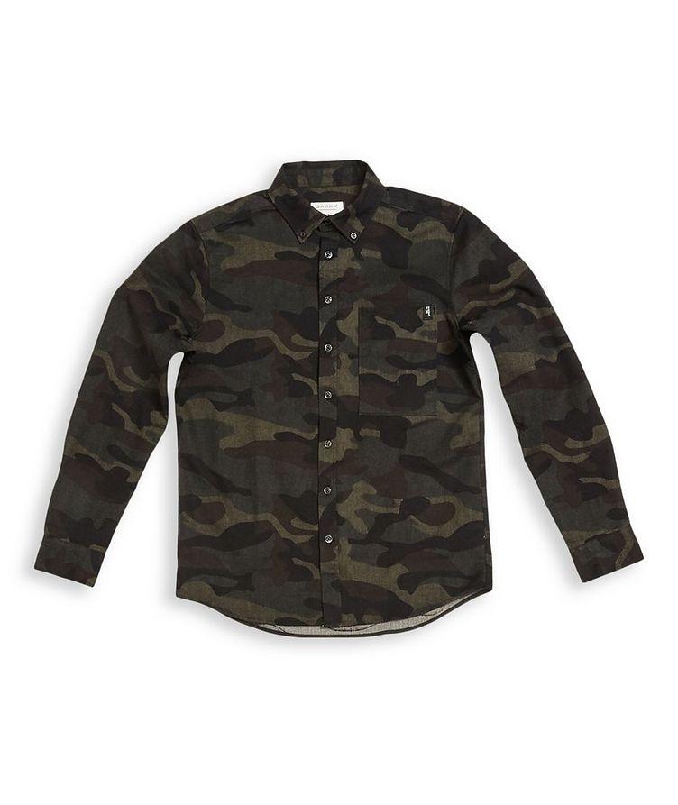 Camouflage Print Shirt image 0