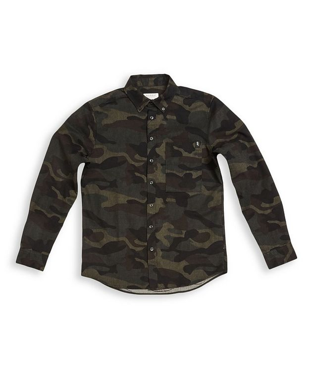 Camouflage Print Shirt picture 1
