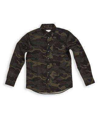Gabba Camouflage Print Shirt