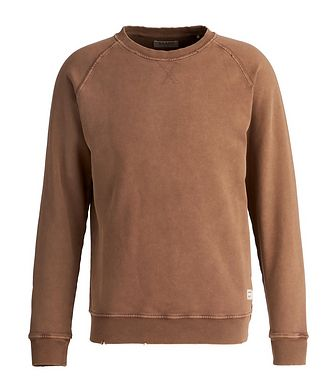 Gabba Richard Distressed Cotton Sweatshirt