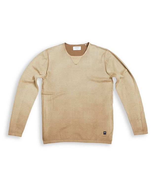 Ridge Long-Sleeve Cotton Sweater picture 1
