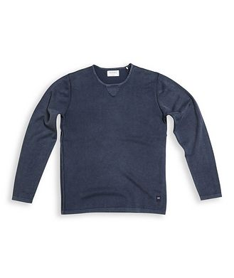 Gabba Ridge Long-Sleeve Cotton Sweater