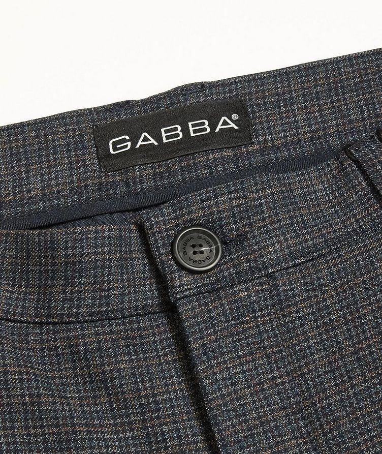 Pantalon Rome Petit à carreaux prince-de-Galles image 1