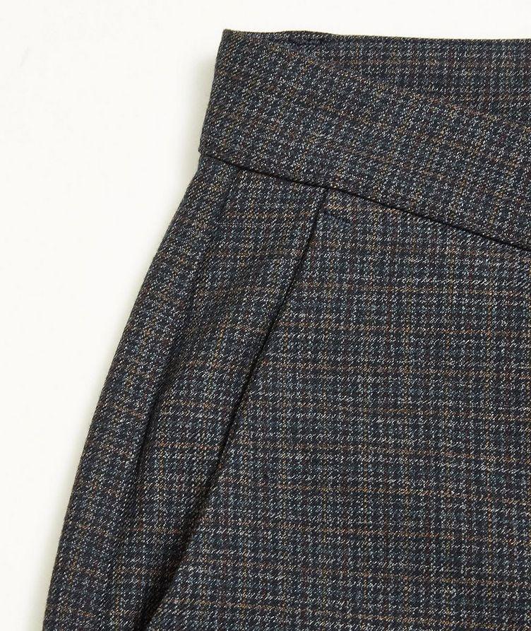 Pantalon Rome Petit à carreaux prince-de-Galles image 2