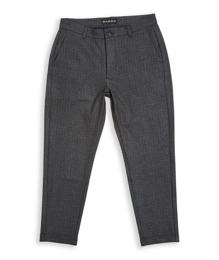 Pantalon Rome Petit à carreaux prince-de-Galles image 0