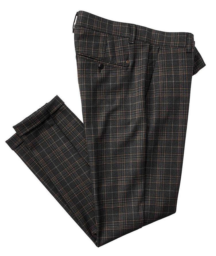 Rome Porto Glen Check Pants image 0