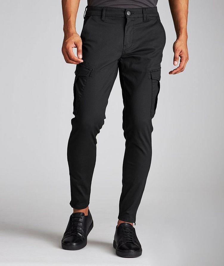 Stretch Cotton-Blend Cargo Pants image 1