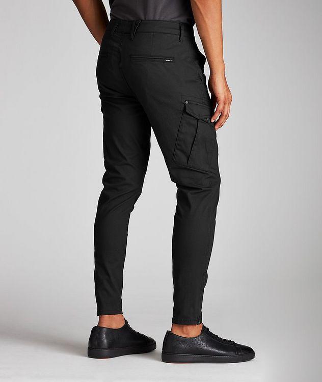 Stretch Cotton-Blend Cargo Pants picture 3