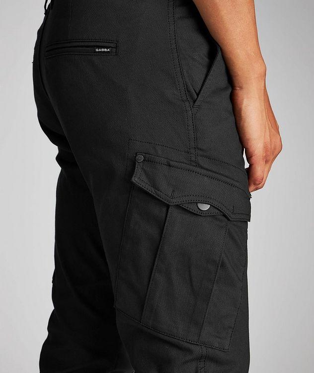 Stretch Cotton-Blend Cargo Pants picture 4