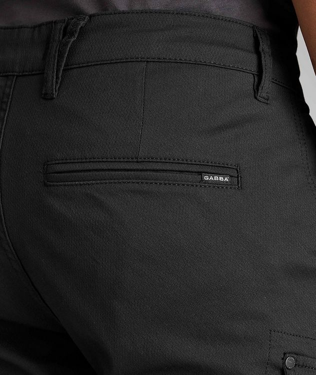Stretch Cotton-Blend Cargo Pants picture 5