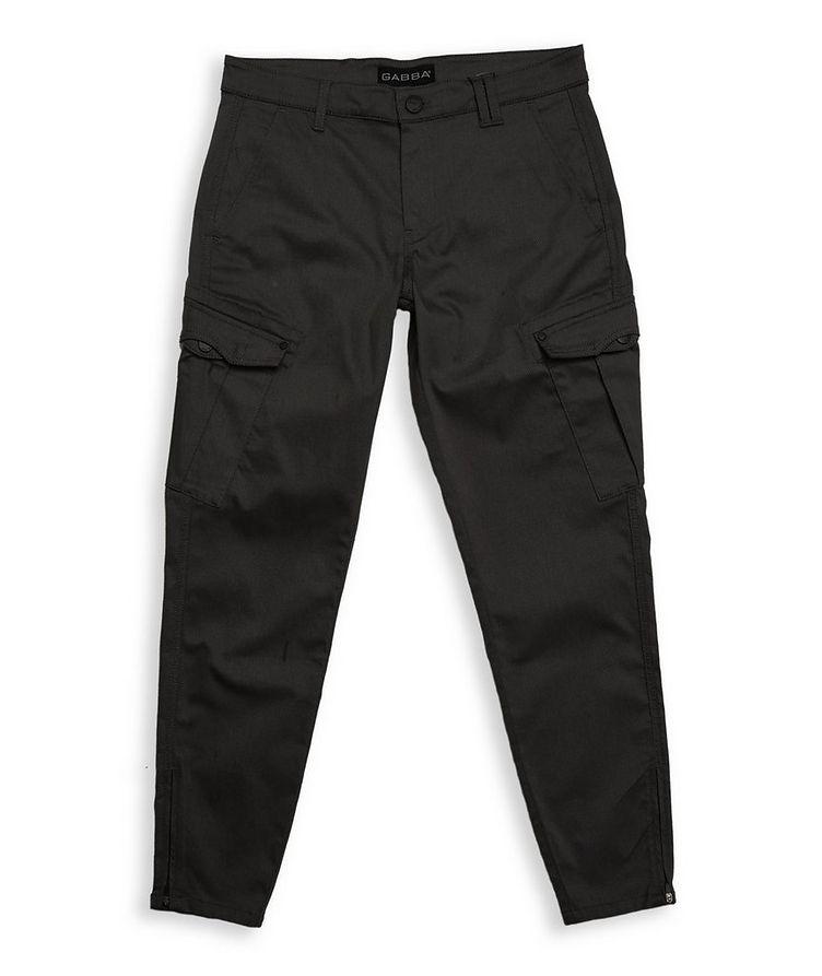 Stretch Cotton-Blend Cargo Pants image 0