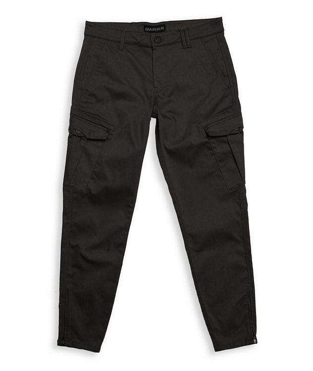 Stretch Cotton-Blend Cargo Pants picture 1