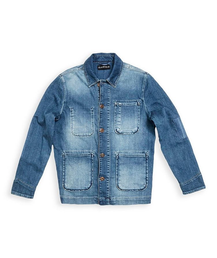 Faded Denim Jacket image 0