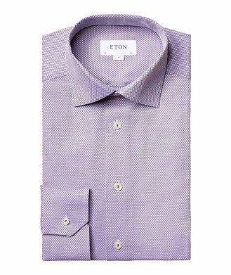 Eton Contemporary-Fit Dobby Cotton Dress Shirt