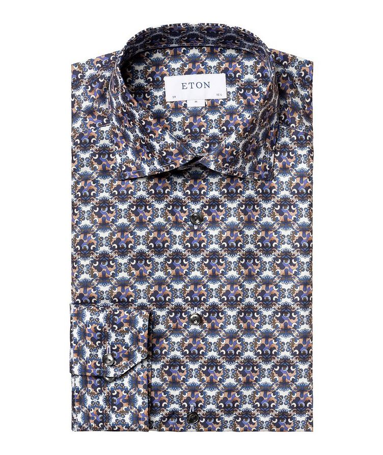 Contemporary Fit Floral  Dress Shirt image 0