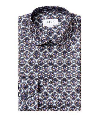 Eton Chemise habillée à motif floral de coupe contemporaine