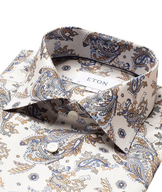 Contemporary Fit Paisley Dress Shirt picture 2
