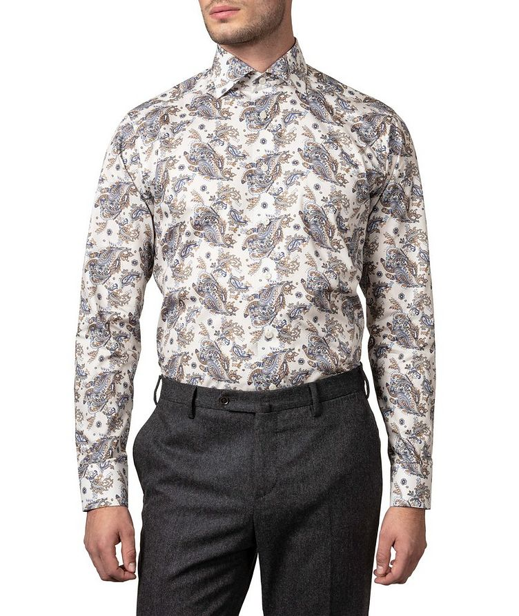 Contemporary Fit Paisley Dress Shirt image 2