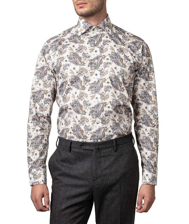Contemporary Fit Paisley Dress Shirt picture 3