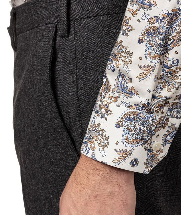 Contemporary Fit Paisley Dress Shirt picture 4