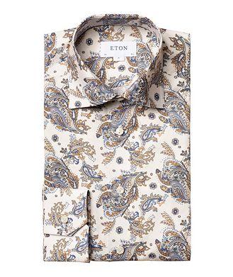 Eton Contemporary Fit Paisley Dress Shirt