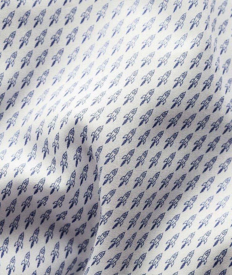Contemporary Fit Printed Dress Shirt image 2
