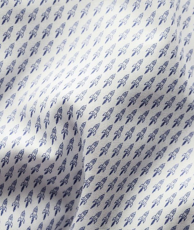 Contemporary Fit Printed Dress Shirt picture 3