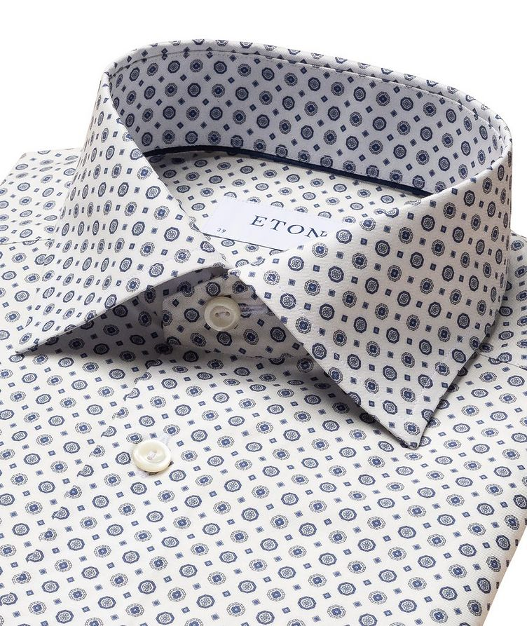Contemporary-Fit Twill Cotton Dress Shirt image 1