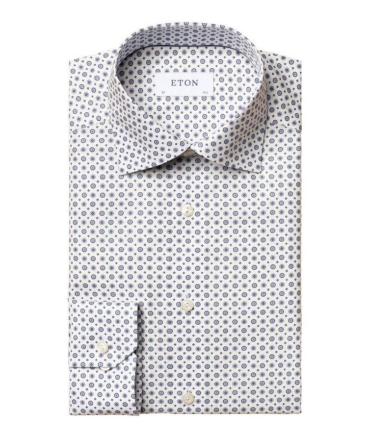 Contemporary-Fit Twill Cotton Dress Shirt image 0
