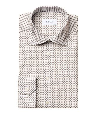 Eton Contemporary-Fit Twill Cotton Dress Shirt