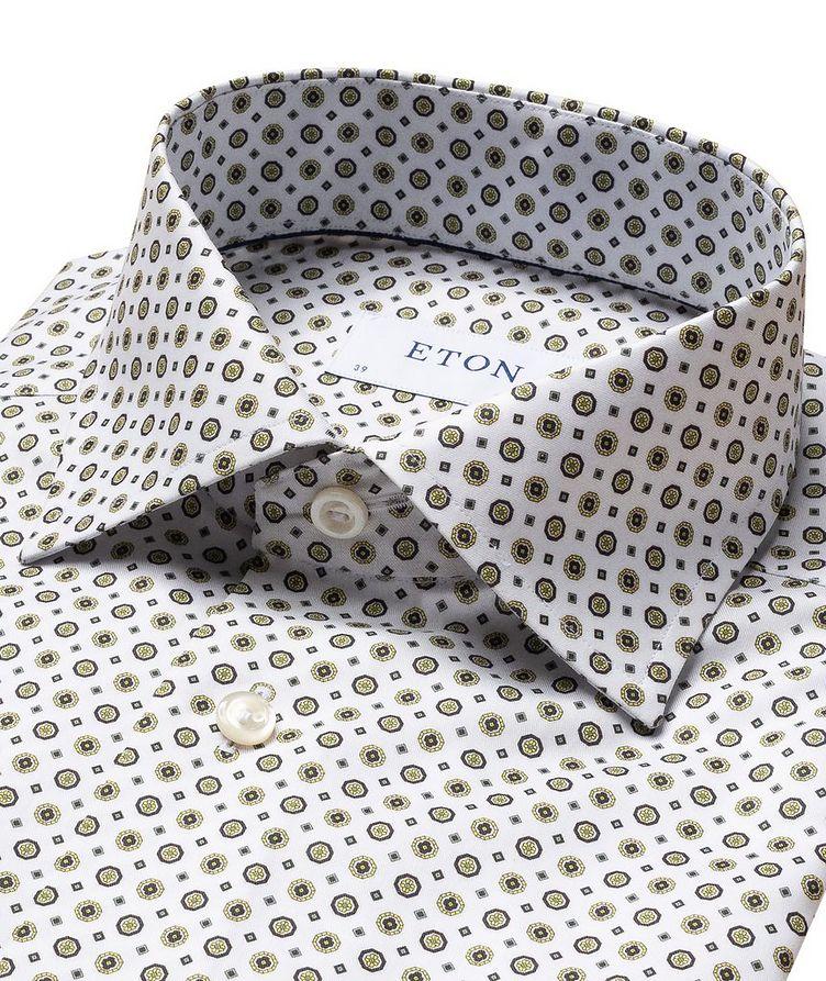Chemise habillée en twill de coton de coupe contemporaine image 1