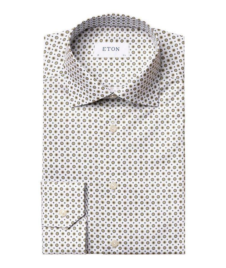 Chemise habillée en twill de coton de coupe contemporaine image 0