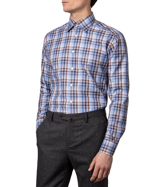 Slim Fit Checked Dress Shirt picture 2