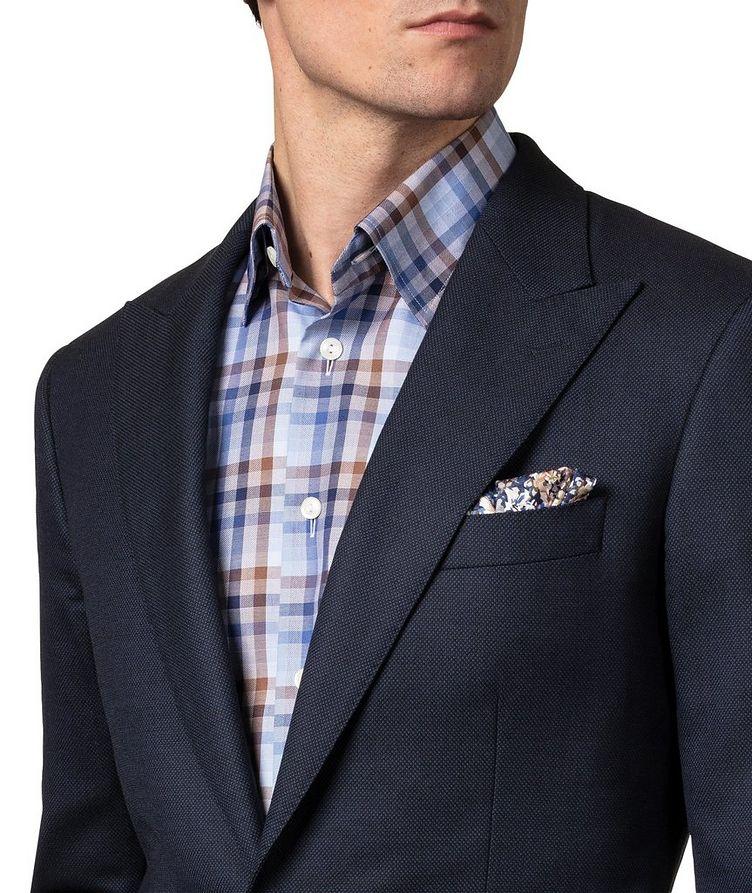 Slim Fit Checked Dress Shirt image 3