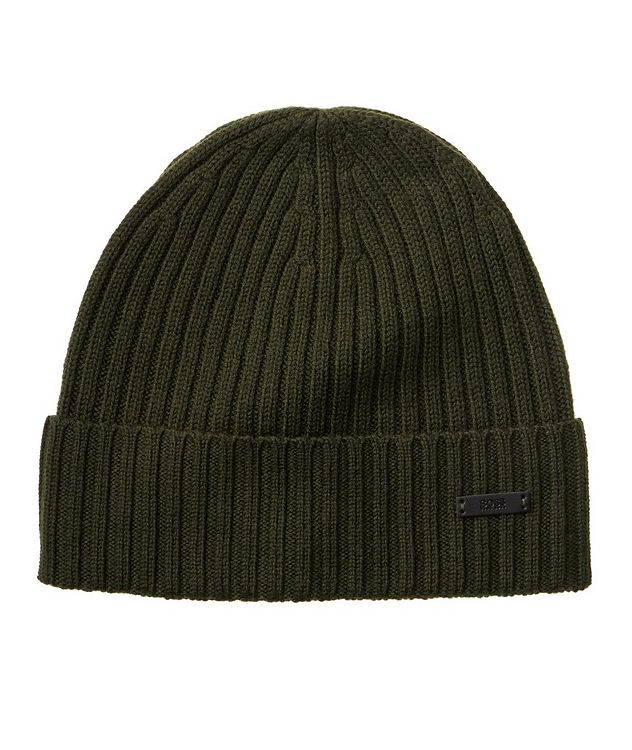 Fati Ribbed Wool Toque picture 1