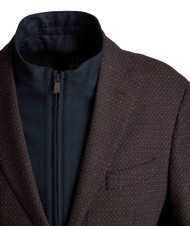 Textured Wool-Blend Sports Jacket image 2