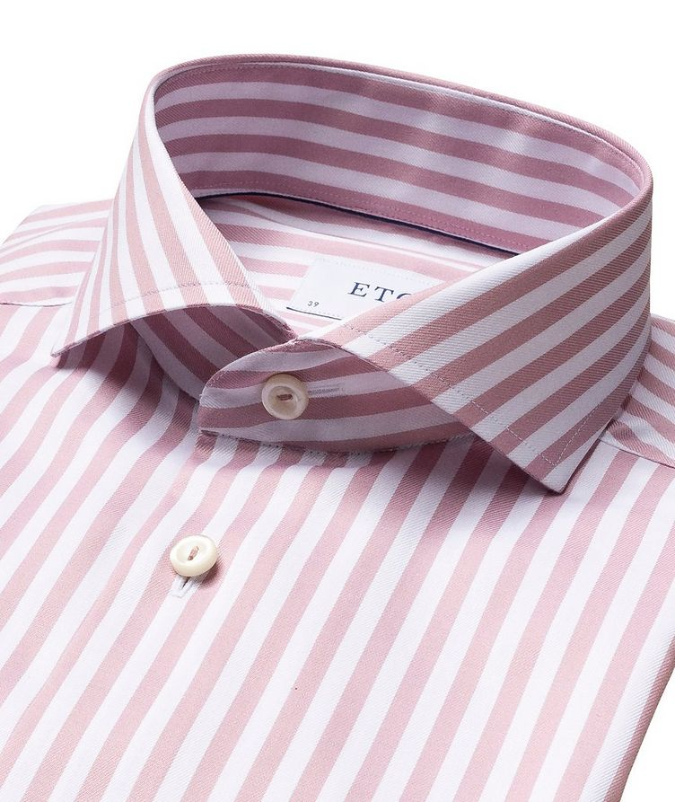 Slim Fit Striped Dress Shirt image 1