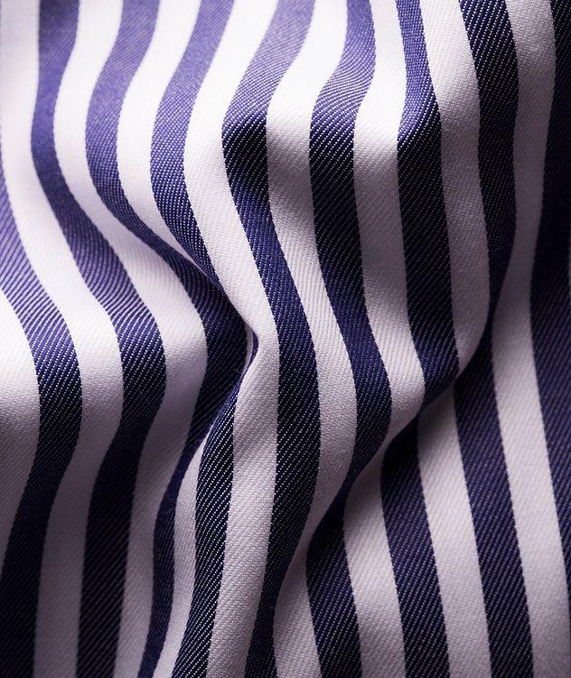 Slim-Fit Striped Dress Shirt picture 3