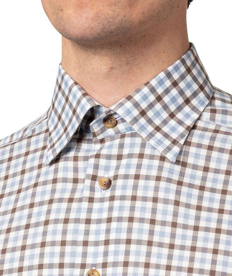 Slim-Fit Gingham Dress Shirt image 3