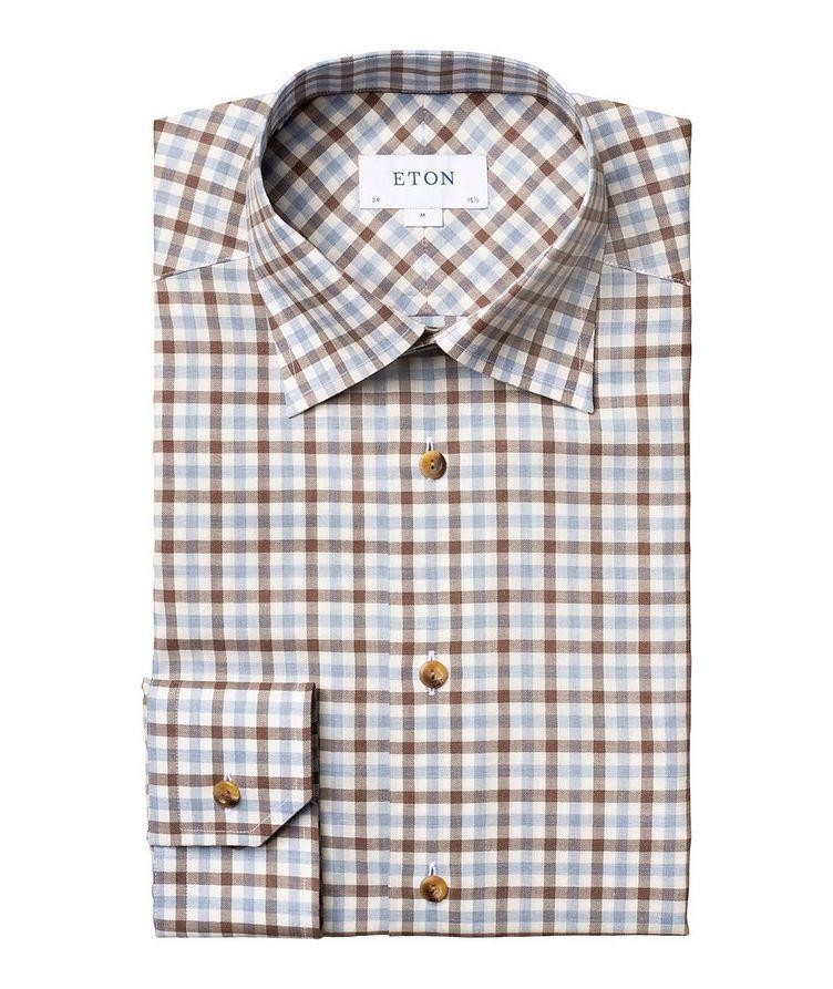Slim-Fit Gingham Dress Shirt image 0