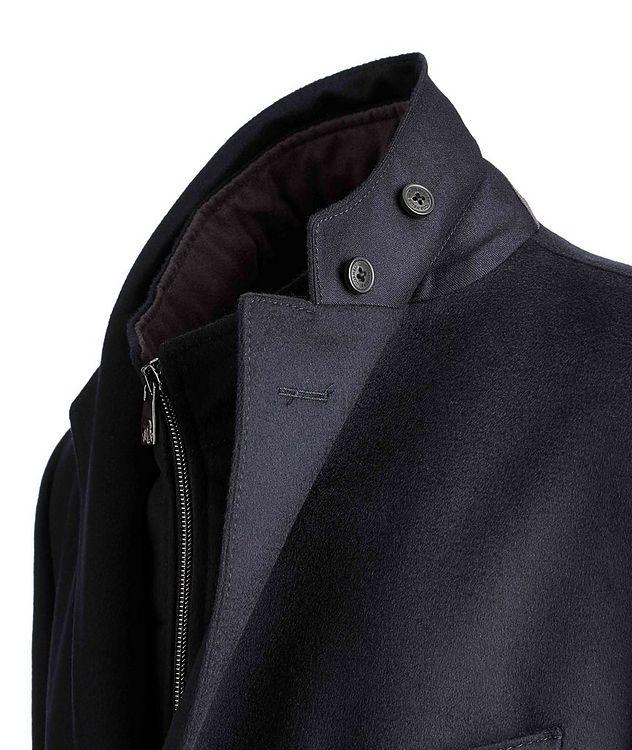 Water-Resistant Virgin Wool Coat picture 6