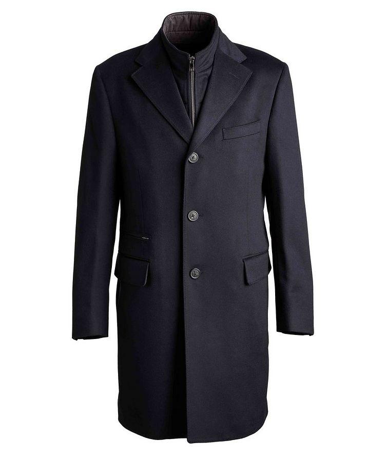 Water-Resistant Virgin Wool Coat image 0