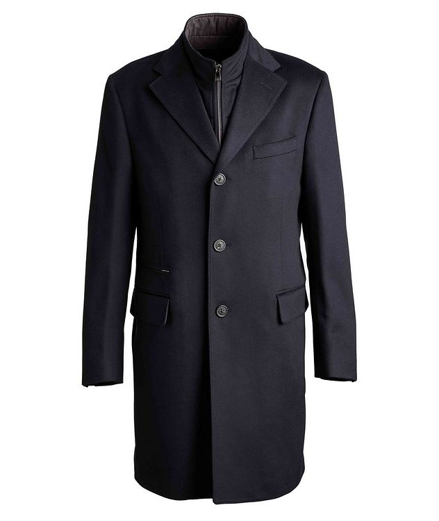 Water-Resistant Virgin Wool Coat picture 1