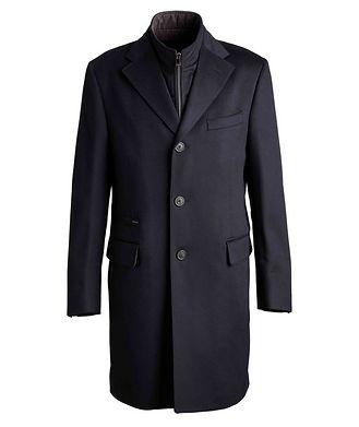 Corneliani Manteau résistant à l'eau en laine vierge