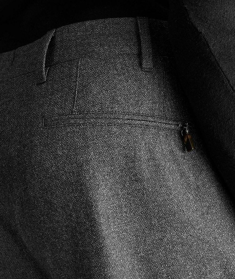Contemporary Fit Stretch-Wool Dress Pants image 2