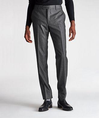 Corneliani Contemporary Fit Stretch-Wool Dress Pants