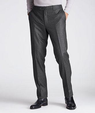 Corneliani Pantalon habillé en laine de coupe contemporaine