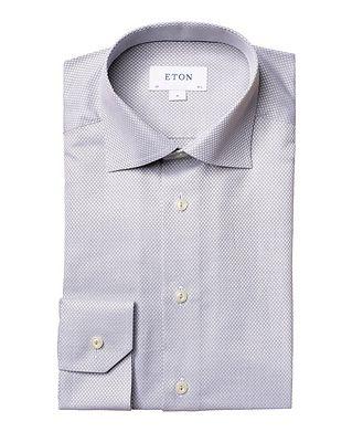 Eton Slim-Fit Dobby Cotton Dress Shirt